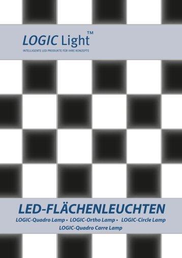 LOGIC Light LED-FLÄCHENLEUCHTEN - LOGIC Glas
