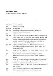 Curriculum vitae Thomas Widmann 12-2012 - ACURA SIGEL Klinik