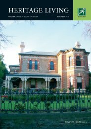 HERITAGE LIVING - National Trust of Australia