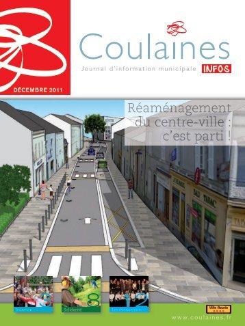 Coulaines Info décembre 2011 - Ville de Coulaines