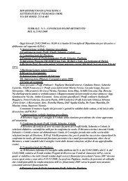 21-02-2008 - Dipartimento di Linguistica Letteratura e Filologia ...