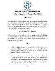 Premio Alfonso Robinson Bours en Investigación en Educación ...