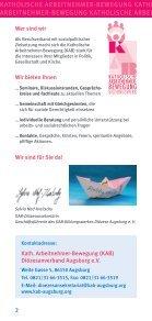 Unser neues Bildungsprogramm - frisch aus der Druckerei... - Seite 2