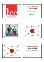 04 GSD Presentation (Discipleship)