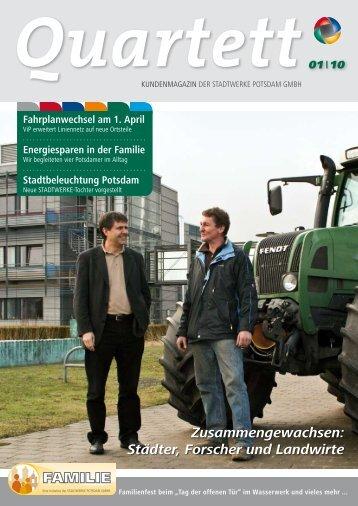 Quartett 1/2010 zum Download (5 MB) - Stadtwerke Potsdam