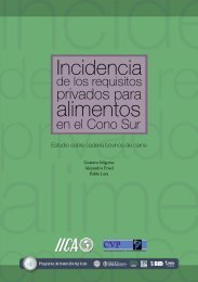 estudio sobre la cadena bovinos - Instituto Interamericano de ...