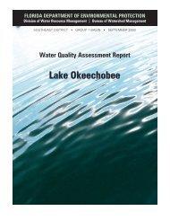 Lake Okeechobee - Florida Department of Environmental Protection