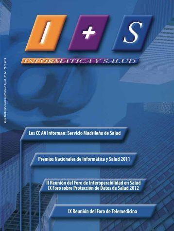 Servicio Madrileño de Salud (Pulse para descargarlo) - Sociedad ...