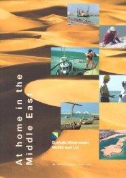 brochure ME - Boskalis Area Middle East