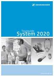 Tourguide 2020 - Sennheiser Communications