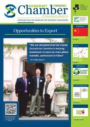 Opportunities to Export - Somerset Chamber of Commerce