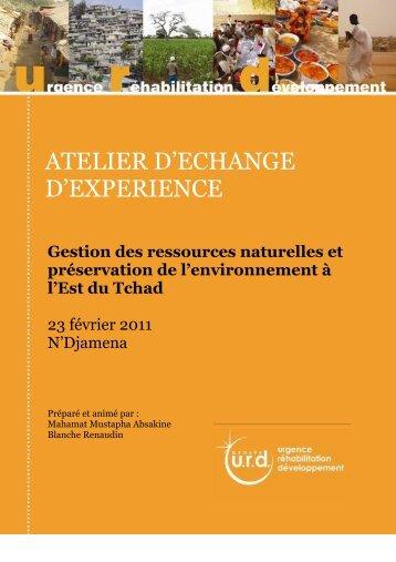 """Compte-rendu de l'atelier """"Gestion des ressources ... - Groupe URD"""