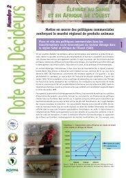 Mettre en œuvre des politiques commerciales renforçant le ... - REPOL