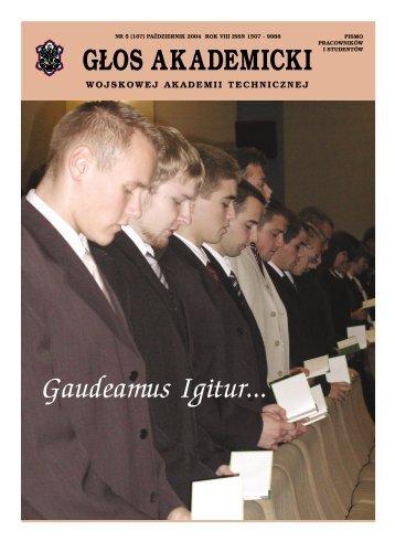 Gaudeamus Igitur... - Wojskowa Akademia Techniczna