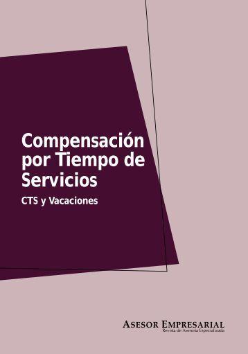 Compensación por Tiempo de Servicios - Revista Asesor Empresarial