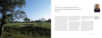 There is no greatest golf course - Mike Nuzzo Golf Course Design