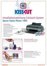 Installationsanleitung Schlauch-System
