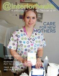 Edition 130 - March 2013 - Interior Health