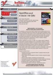 OpenOffice.ux.pl w biurze i nie tylko - Structum