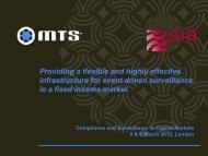 MTS Cash – B2B interdealer market - SIA