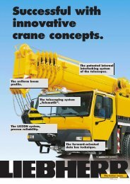 Successful with innovative crane concepts.