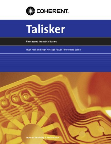 Talisker Brochure - Coherent