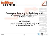 Teilmerkmal - Dr. Ralf Kneuper
