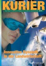 Innovative Dynamik in der Landwirtschaft