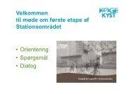 Download Jes Møllers præsentation her (pdf) - Køge Kyst