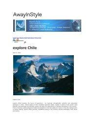explore Chile - Explora
