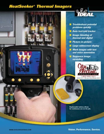 IDEAL Heatsinker Thermal Imagers Brochure - City Electric ...