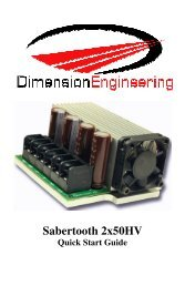 Quick start guide.pdf - Dimension Engineering