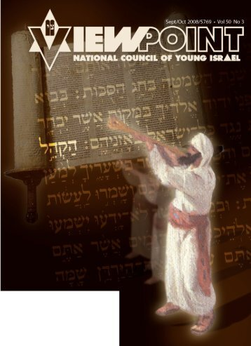 Download Magazine - National Council of Young Israel
