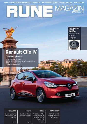 Renault Clio IV - RUNE Piese Auto