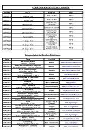 CORRI CON NOI ESTATE 2013 1^PARTE - Intranet