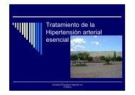 Tratamiento de la Hipertensión arterial esencial
