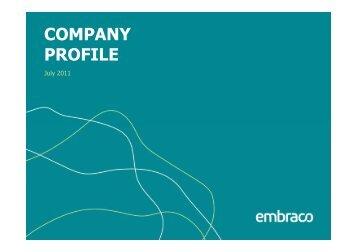 Company Profile Engl Jul 2011 [Modo de Compatibilidade]