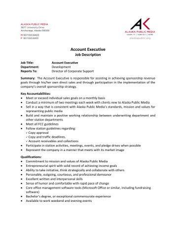 executive account manager / elina concierge job description