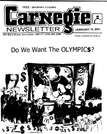 Do We Want The OLYMPIC$? - Contact Us
