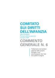 """Commento generale n. 6 - PIDIDA """"Per I Diritti dell'Infanzia e dell ..."""