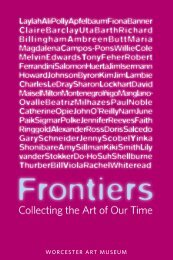 Gallery Guide - Worcester Art Museum