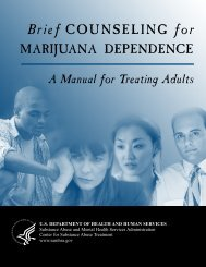 Brief COUNSELING for MARIJUANA DEPENDENCE