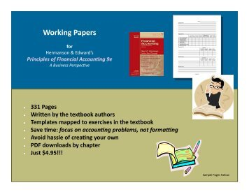 Working Papers - Textbook Media