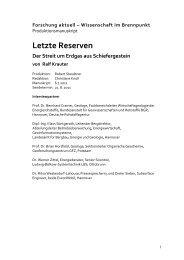 Letzte Reserven - Ralf Krauter