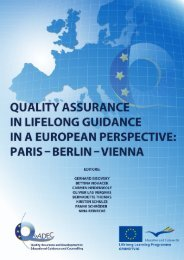 Download Abschlusspublikation aller Partner: Quality assurance in ...
