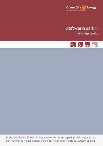 Green City Energy Wertpapierprospekt 2013-11-22 - Anleihen ...