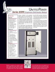 Expansion Distribution Modules - Power & Systems Innovations