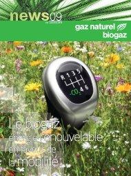énergie renouvelable - Le gaz naturel / biogaz - carburant du futur!