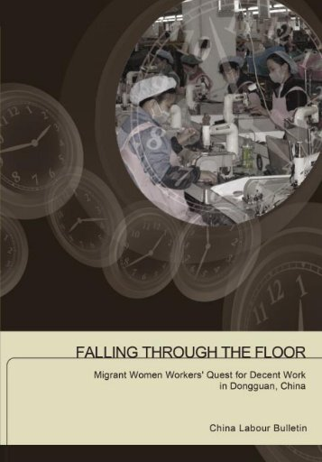 Falling through the floor cover - China Labour Bulletin