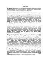 Risperidone Introduction - Pharma Manufacturer